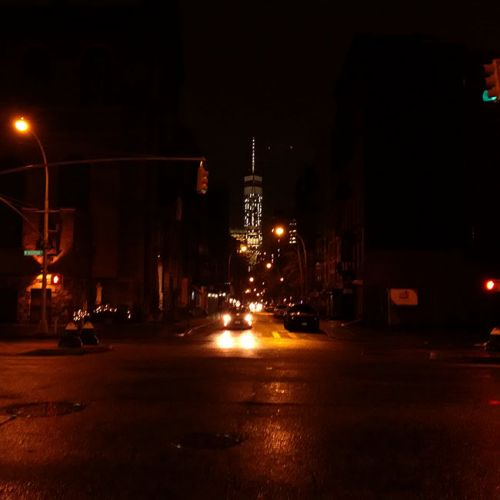 NYC Christmas Night in Soho‎ 2015