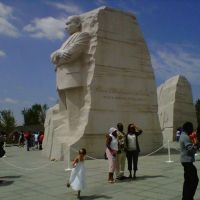 Martin Luther King Memorial, Opening Day, August 28, 2011