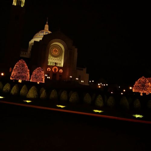 The Basilica of the National Shrine of the Immaculate Conception, December 21, 2015